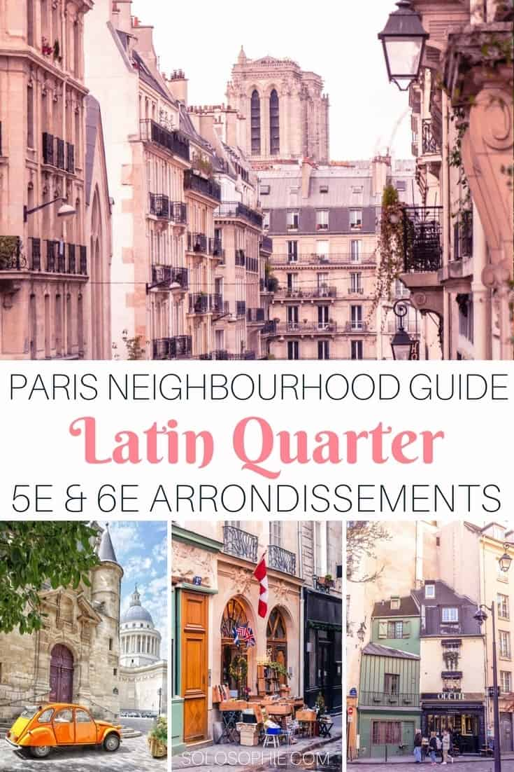 Parisian neighbourhood guide: Latin Quarter, 5e & 6e arrondissements, Paris, France. Best cafes and bars in the area, things to see and do and where the Parisians really hang out!