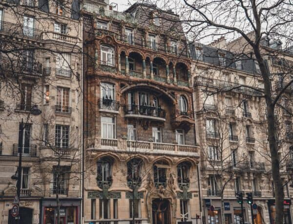 art nouveau in paris france