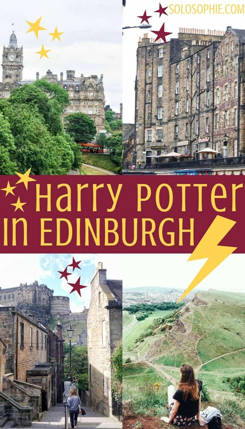 A Harry Potter guide to Edinburgh: Harry Potter's the capital of Scotland- where to go and what to see where JK Rowling got inspiration for the best selling series and books!