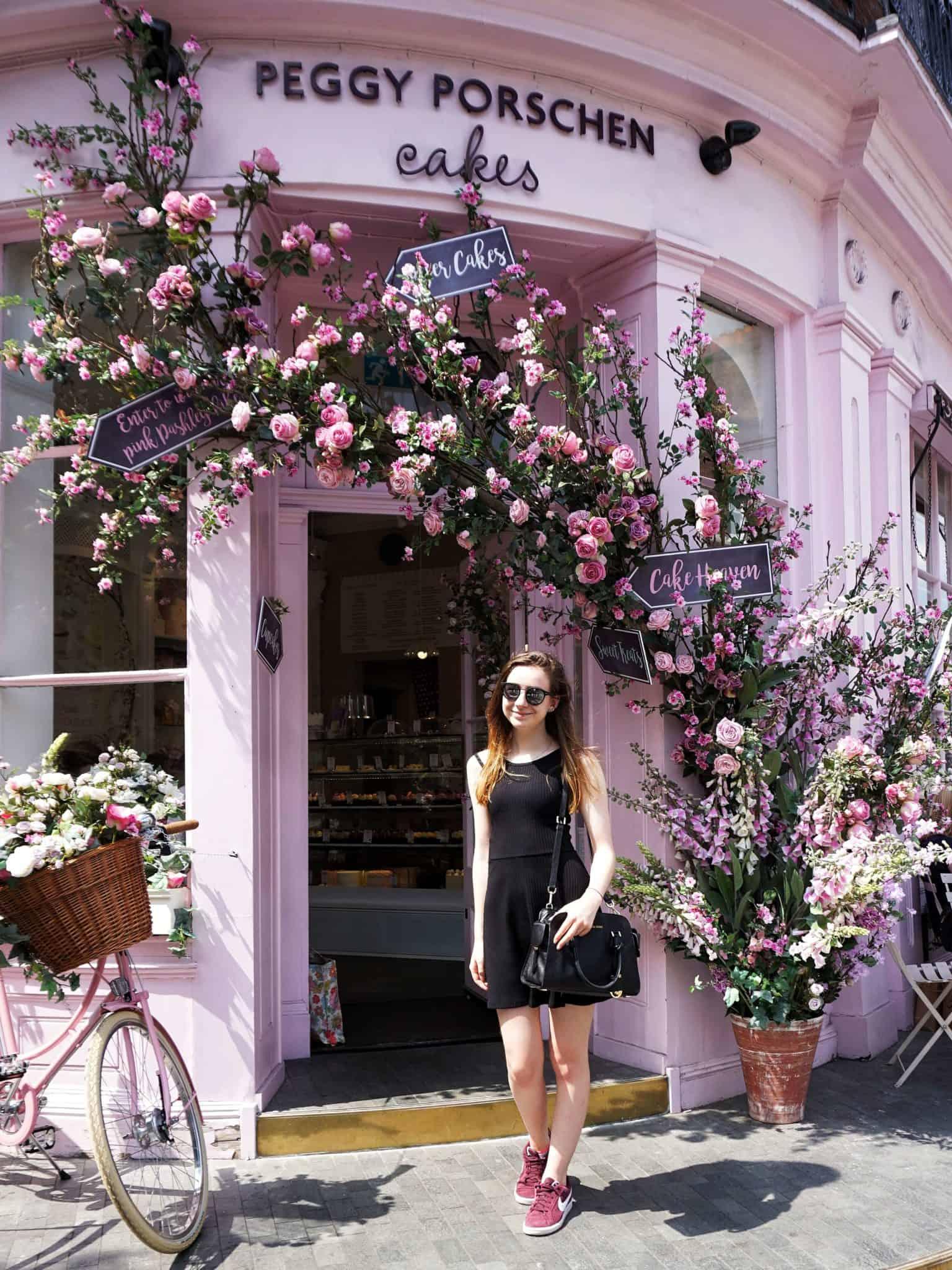 Peggy Porschen Parlour: Belgravia London England: Is this the cutest café and cake shop in London?