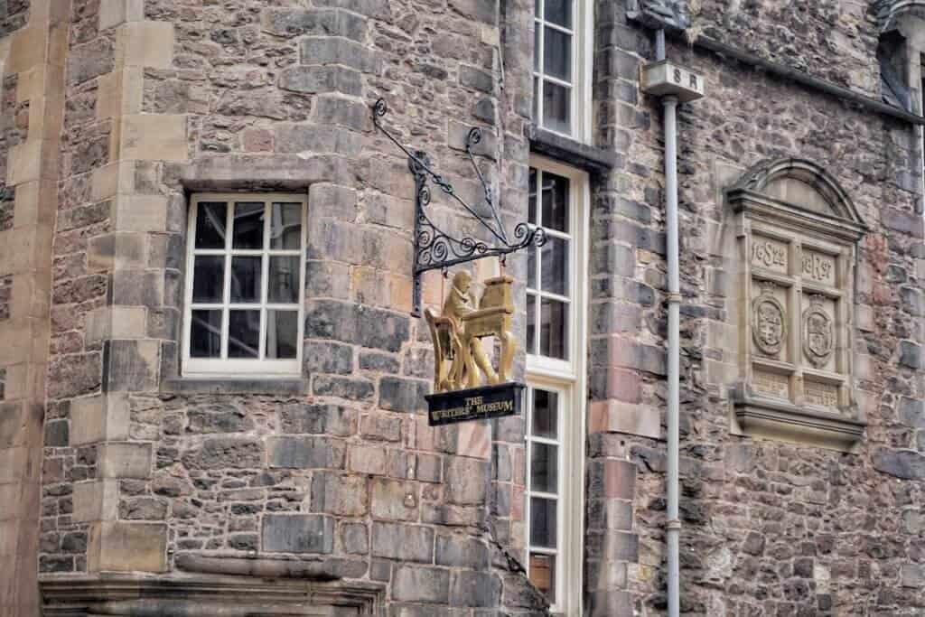 writer's museum Edinburgh Scotland