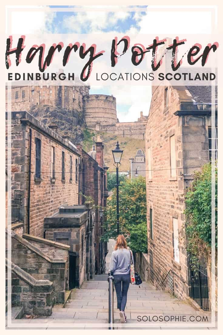 Edinburgh Harry Potter Tour and Guide. Don't be a muggle! Instead, follow this complete guide to the best of Harry Potter and wizarding locations to Edinburgh, Scotland. (The Elephant House, Candlemakers Row, etc)