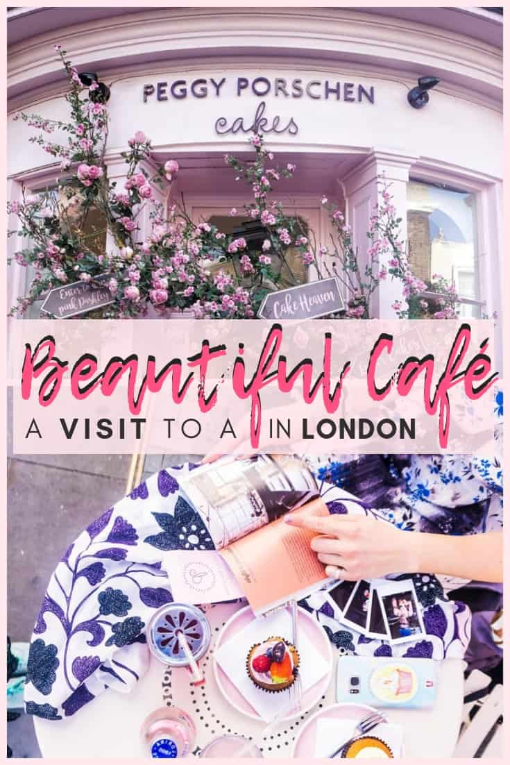 Peggy Porschen Parlour: a cake, coffee shop and café in Belgravia, London, England: Is this the most adorable café in the UK capital?