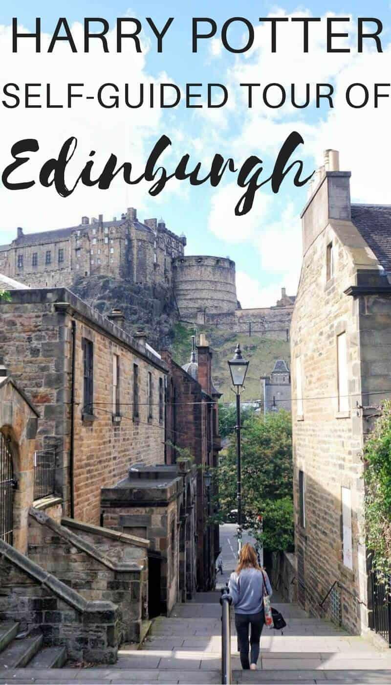 Self guided Harry Potter Tour of Edinburgh, Scotland