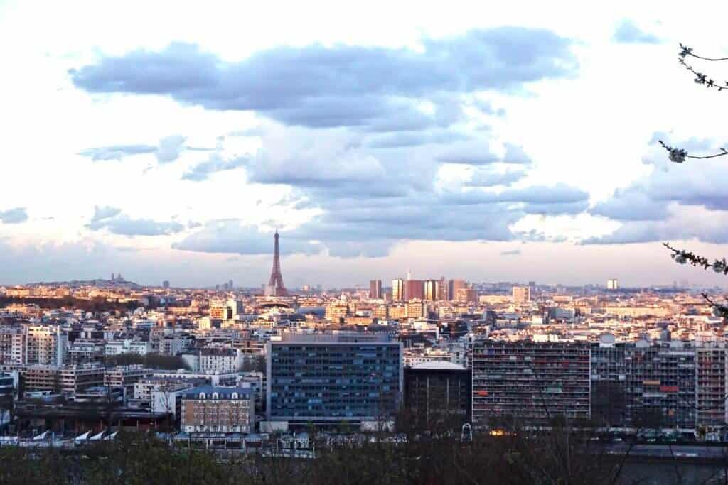Parc Saint-Cloud, unusual places to see the sacre coeur in paris