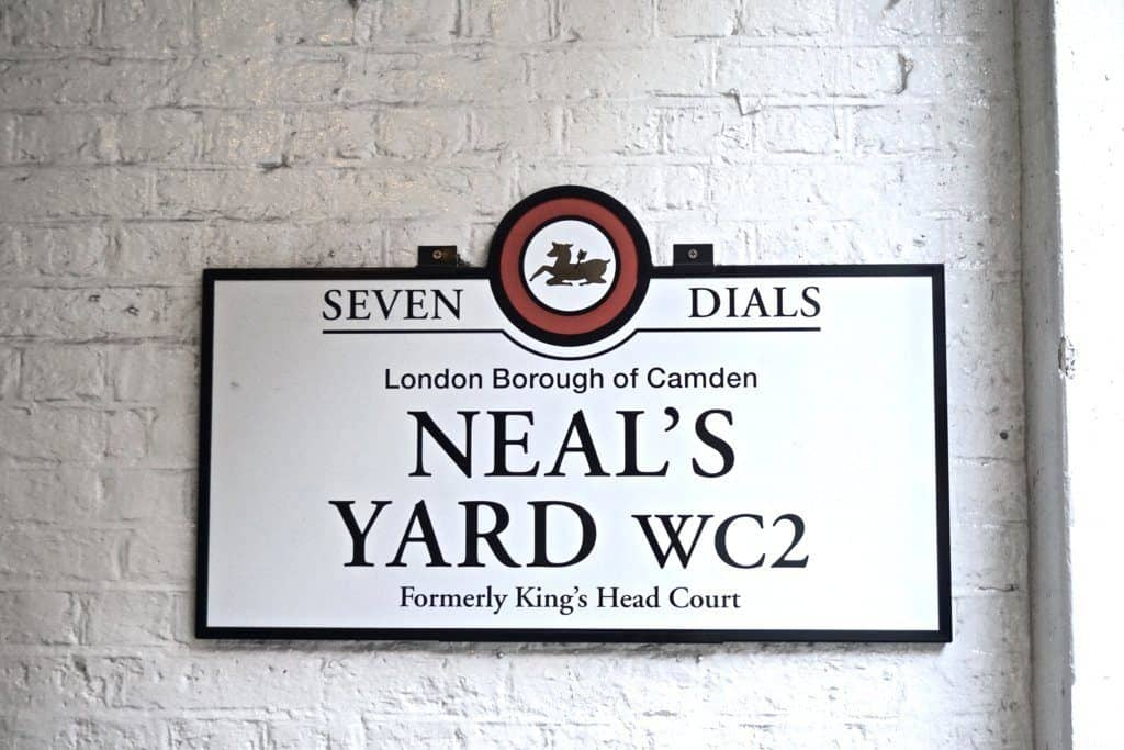 Neal's Yard, Covent Garden, London: Secret London Locations