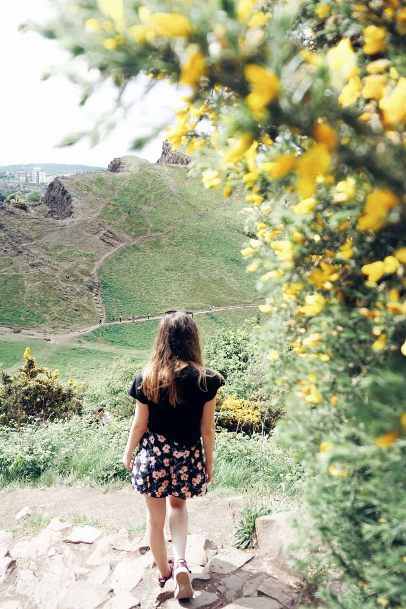 Hiking Arthur's Seat: Climbing an Extinct Volcano in Edinburgh, Scotland