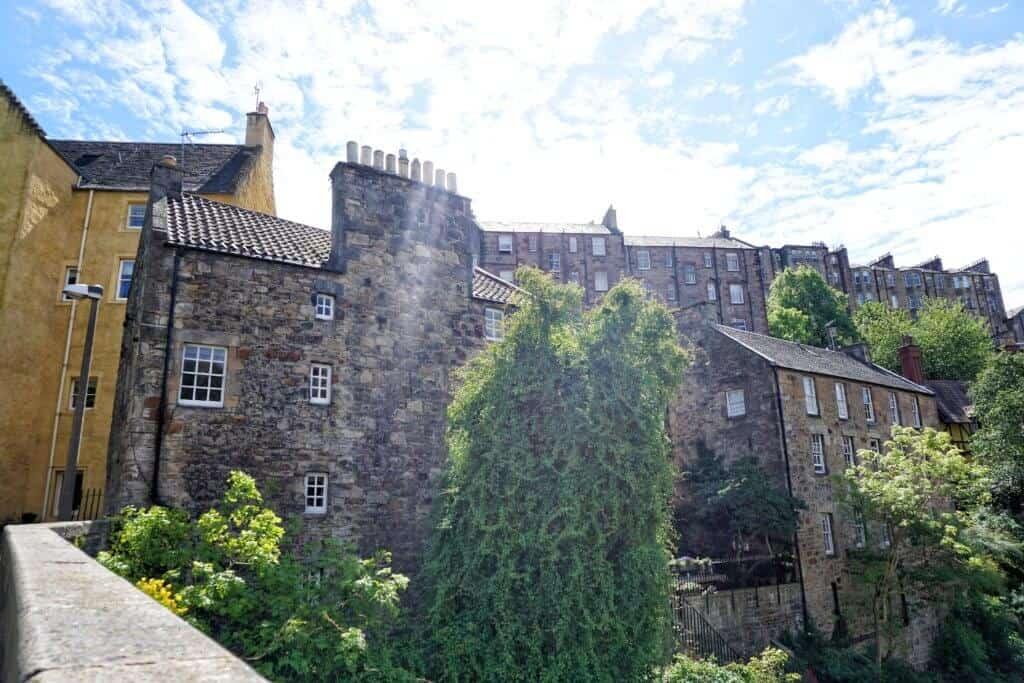 dean village edinburgh scotland