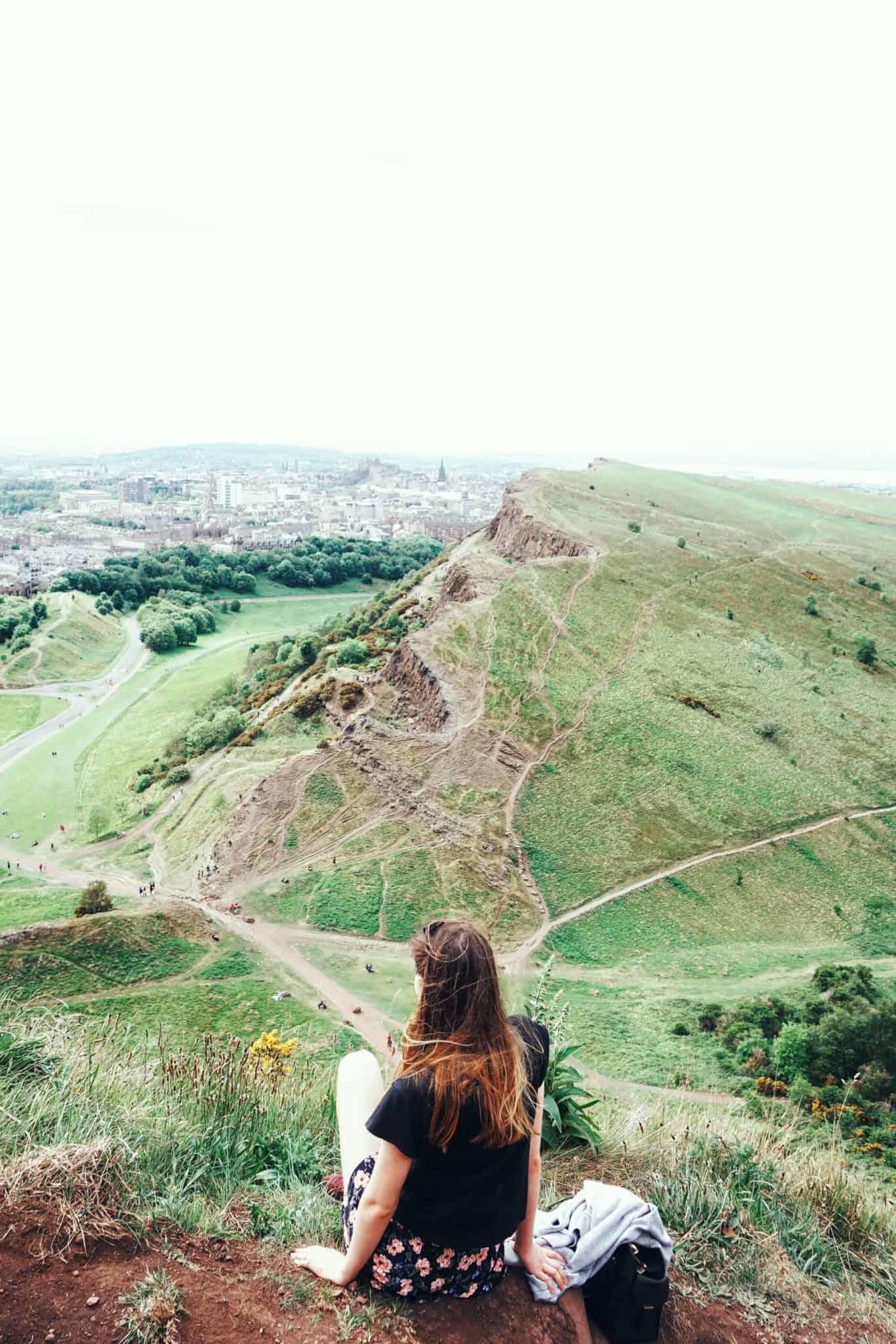 Hiking Arthur's Seat Climbing an Extinct Volcano in Edinburgh, Scotland