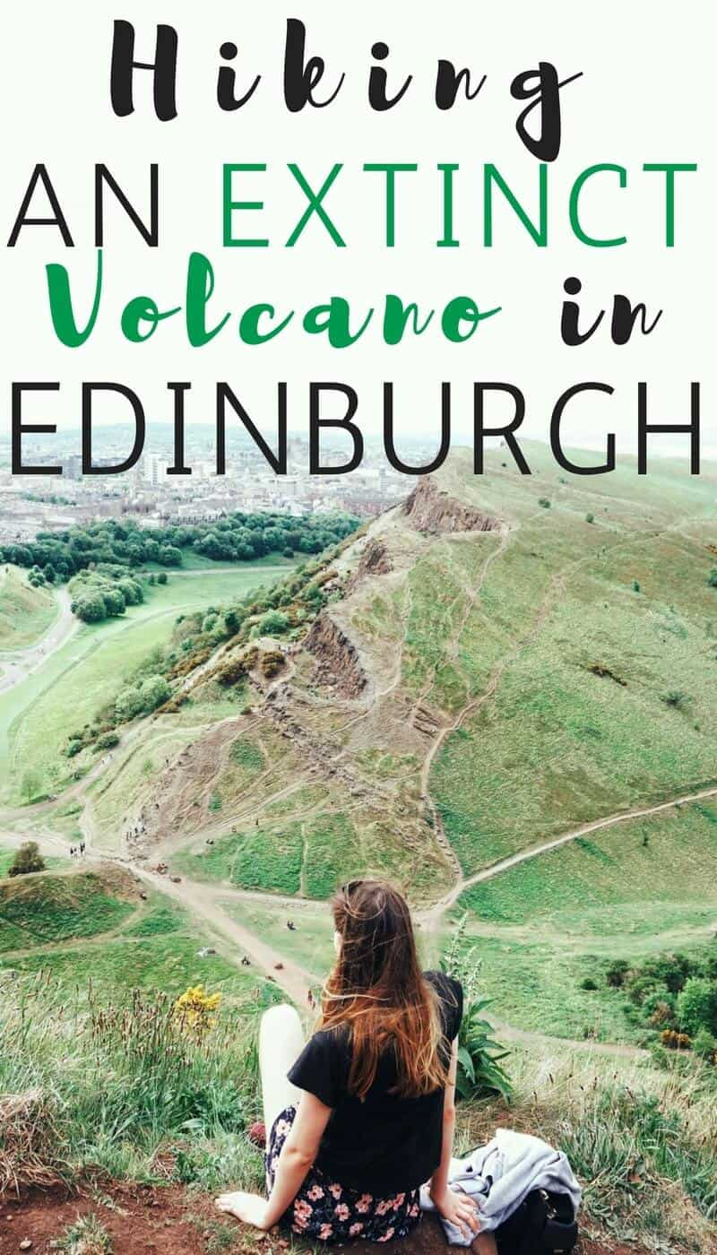Hiking an Extinct Volcano in Edinburgh, Scotland- What it's like to hike up Arthur's Seat in Holyrood Park.