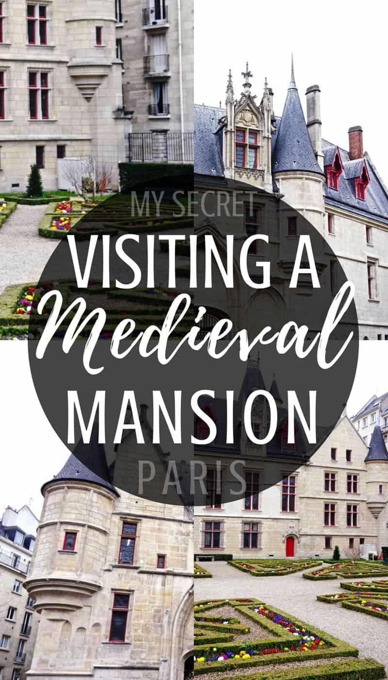 My secret Paris locations: visiting Hôtel de Sens, a medieval mansion turned library in the heart of Le Marais, Paris, France.