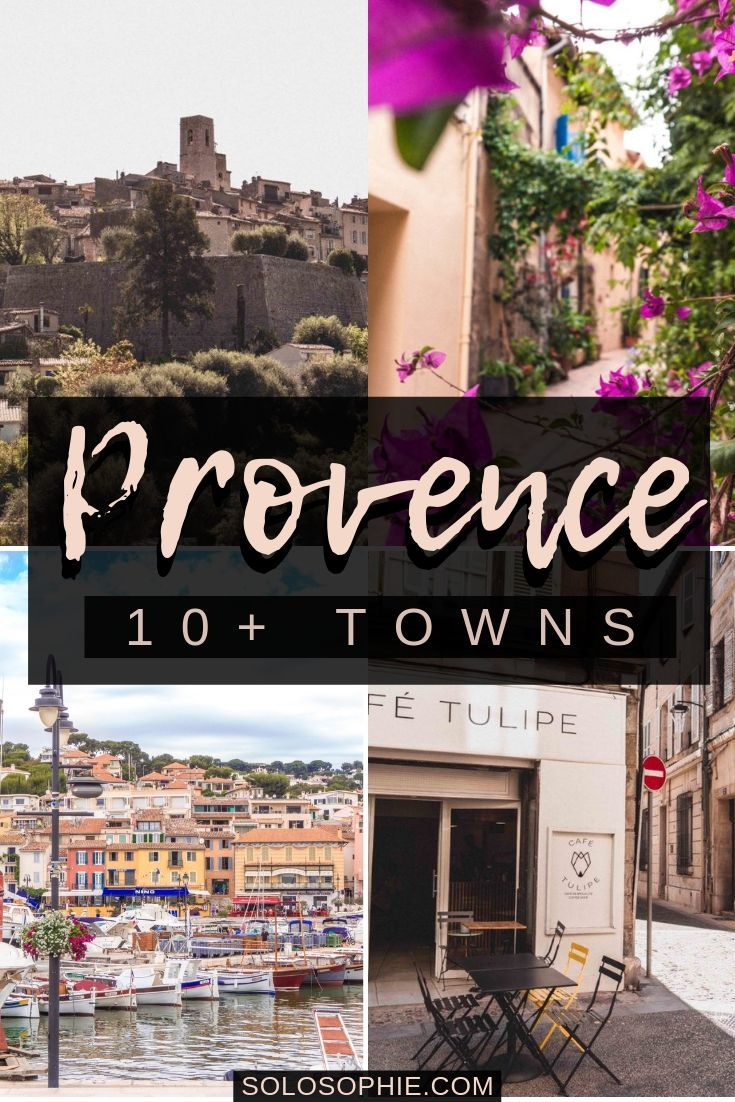 Stunning and truly breathtaking Provence villages and towns you must see and enjoy the next time you're in the south of France. And so if you're looking for where to stay in Provence, then this is a full itinerary for Provence!