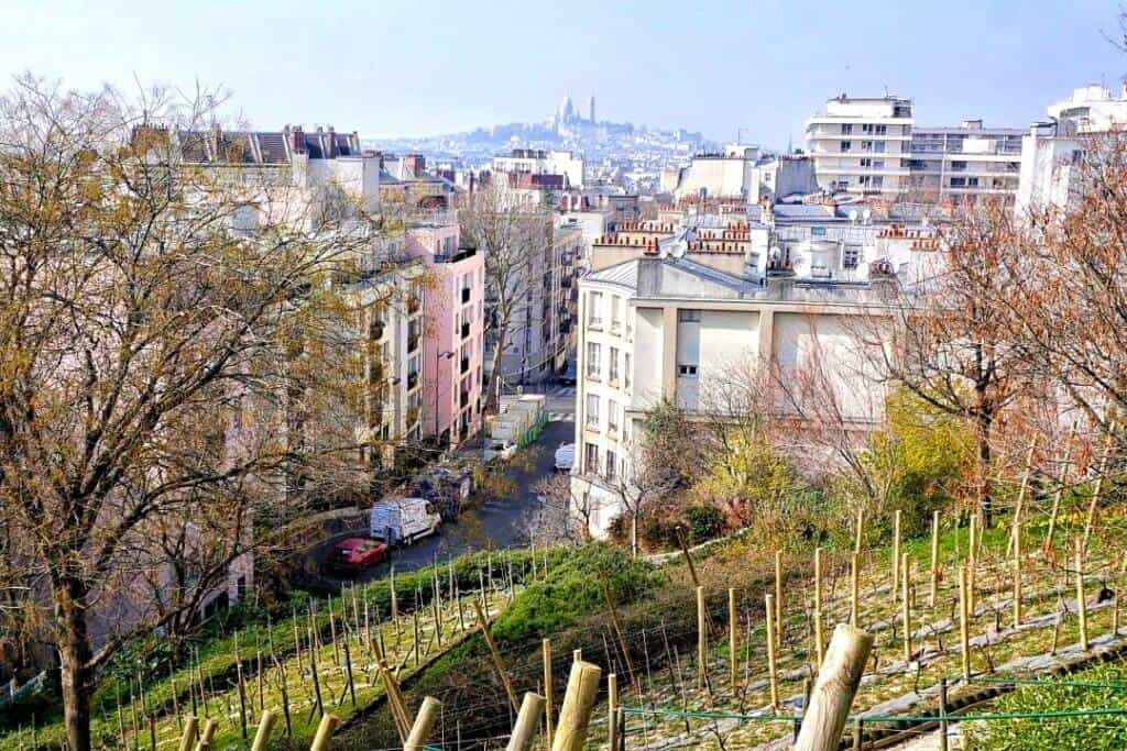 Butte Bergeyre, unusual places to see the sacre coeur in paris