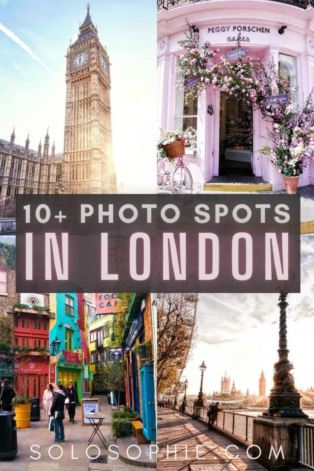 10+ Iconic Photo Locations in London You Must Visit/ BEAUTIFUL LONDON ENGLAND UK
