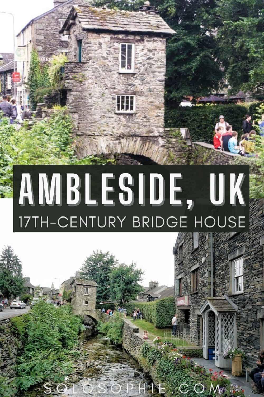 Bridge House in Ambleside: A Rare 17th-Century Lake District Dwelling in Cumbria England