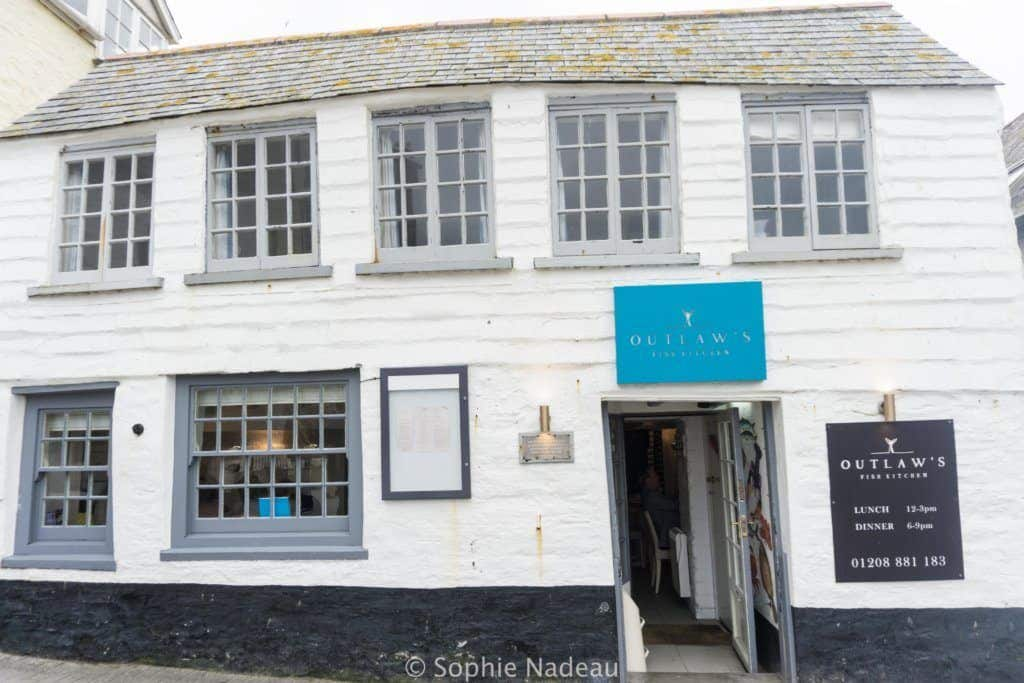 Port Isaac oldest pub: A traditional 14th Century Fishing village in Cornwall, England