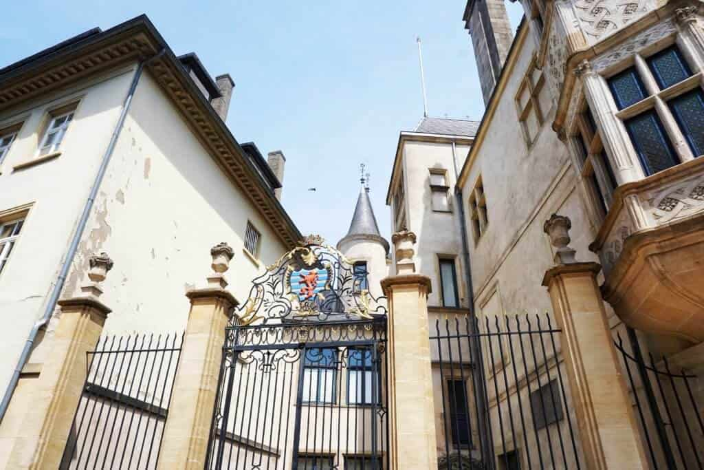 ducal palace, Luxembourg: Best Castles in Luxembourg