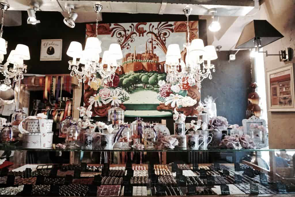 How to spend three days in Luxembourg: inside of a chocolate shop
