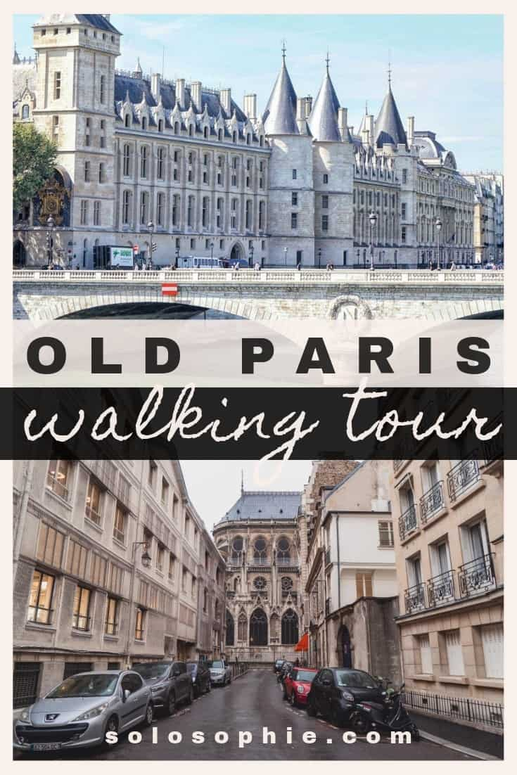 Free and self-guided Old Paris walking tour. Here's an itinerary for an easy guide to the 3rd, 4th, and 5th arrondissements of Paris, France