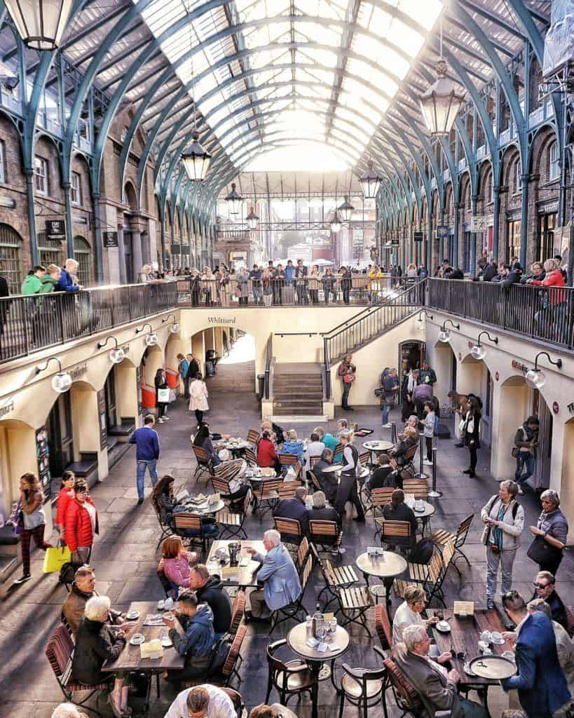 Iconic Photo Locations in London England: Covent Garden