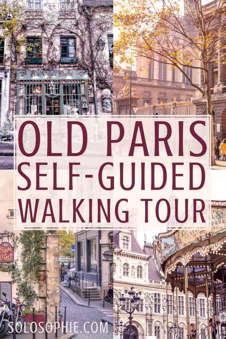 The only Paris walking tour you'll ever needed. Free & self-guided old and vintage Paris walking guide. Highlights include Île de la Cité, Latin Quarter & Le Marais.