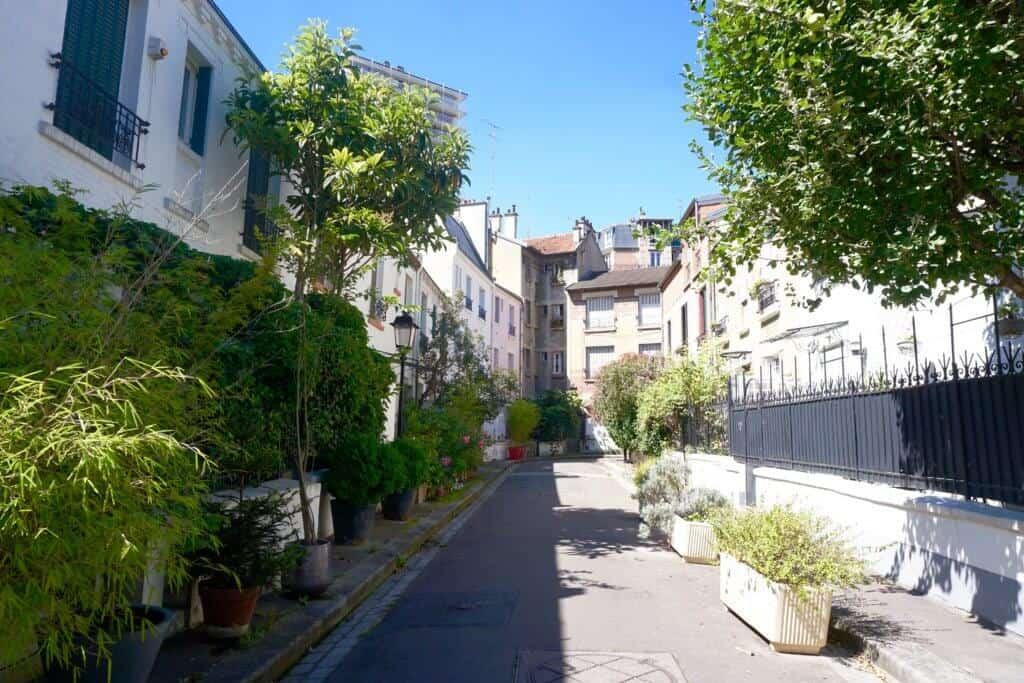 Cité Florale, 13e arrondissement, Paris, France