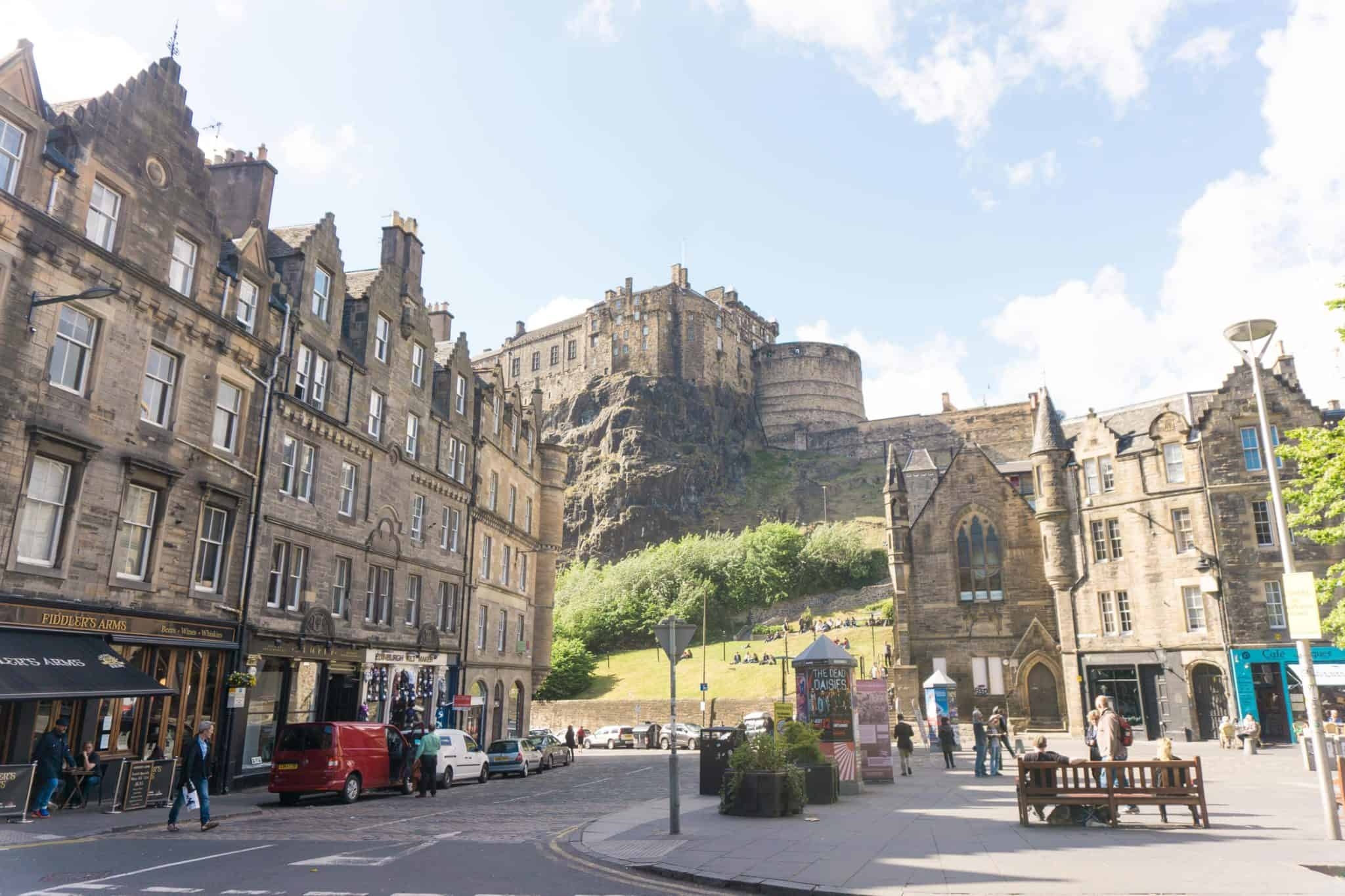 Best Castles in Edinburgh, Scotland: edinburgh castle