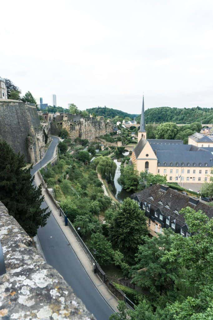 How to spend three days in Luxembourg, an itinerary: grund view