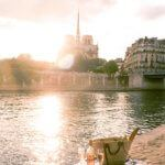 Picnic along the Seine: where to see sunset in paris, France (the very best spots)
