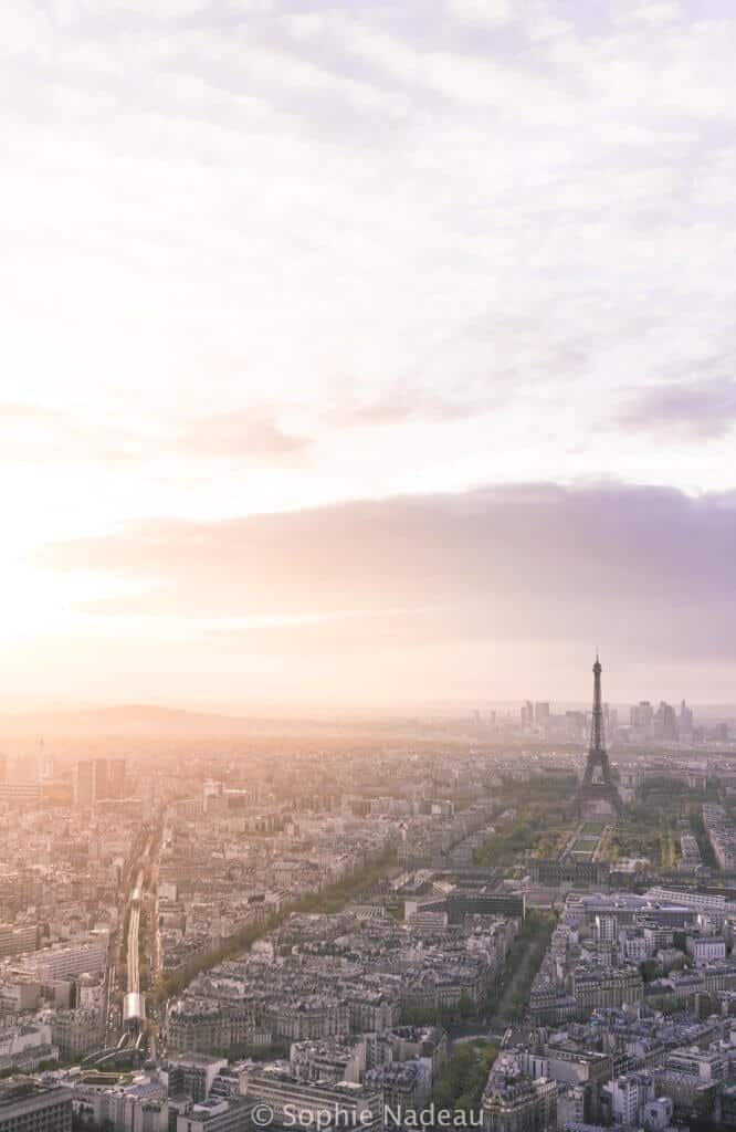 tour Montparnasse: where to see sunset in paris, France (the very best spots)