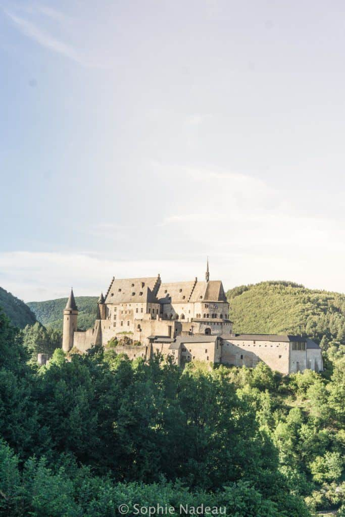 Guide to Vianden, Luxembourg: Things to do and what to see and visit: best viewpoint