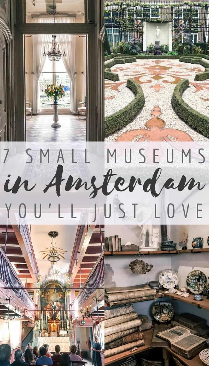 7 small museums in Amsrerdam, the Netherlands you'll love!