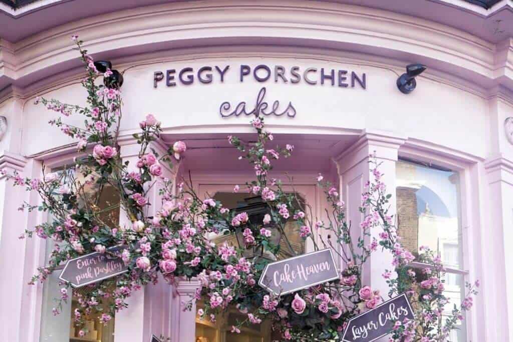 Cutest Cafés in London, England you won't want to miss: Peggy Porschen Cakes