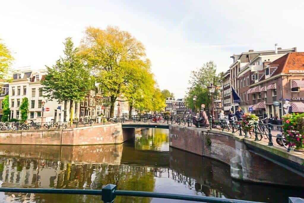 Amsterdam, the Netherlands: Canal View