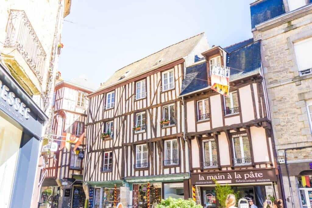 most beautiful towns in Brittany: Dinan