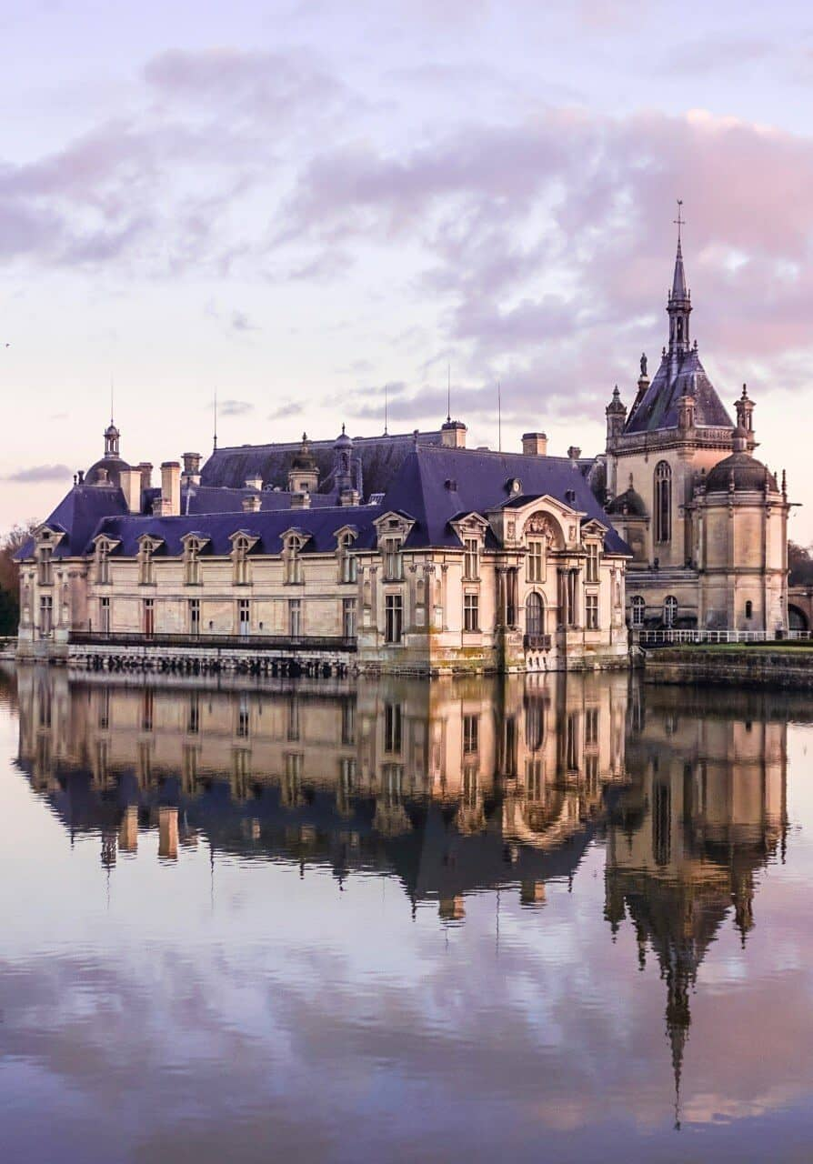 A quick guide to Chantilly, Île de France, France. Château, gardens and hamlet things to do and an easy day trip from Paris!