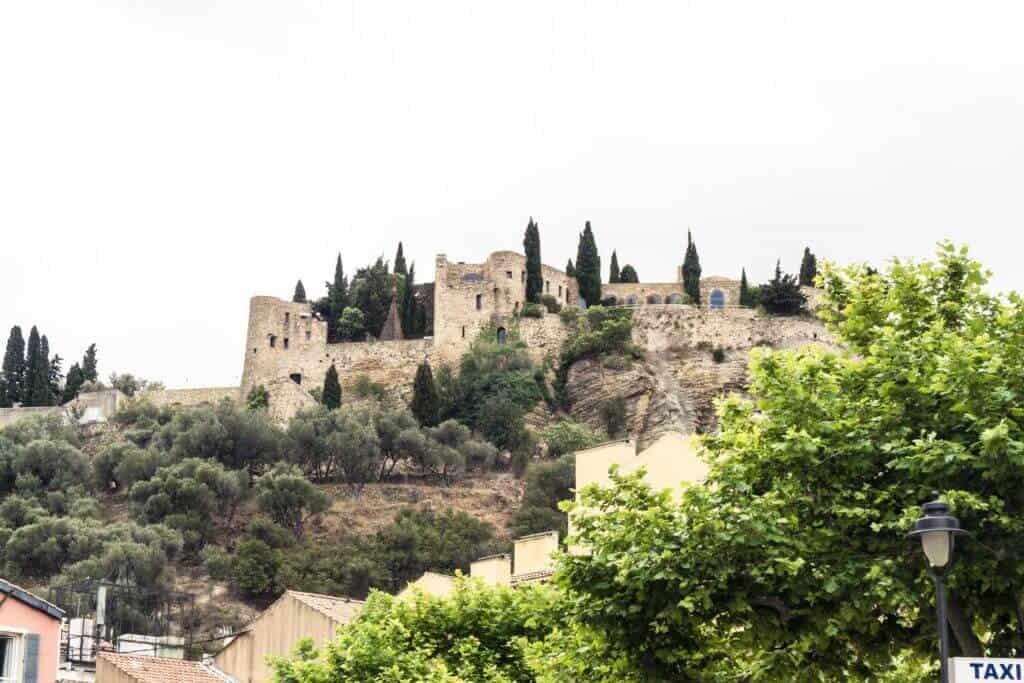 Château de Cassis, Carolingian Castle in Provence, Southern France