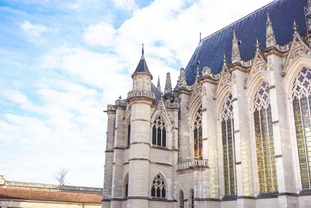 Château de Vincennes day trip from Paris, France: sainte chapelle