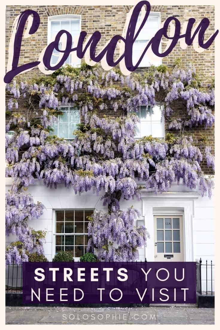 Beautiful Mews Streets in London, lanes, and roads you need to walk down in London, England, UK. Here's your complete guide to the best of London beautiful streets, as well as where to find them!