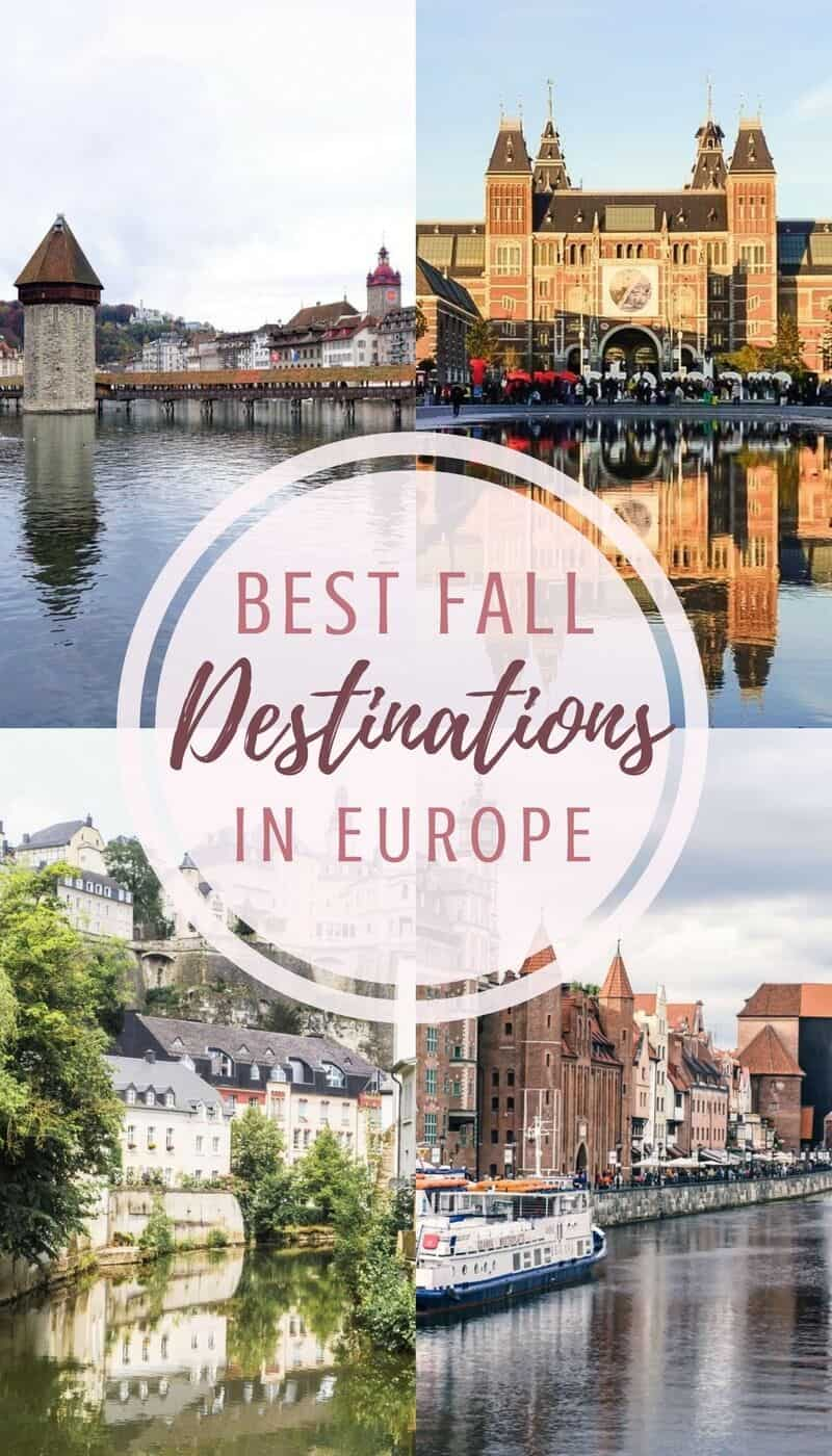 Best fall destinations in Europe: where you should head to in the autumn months: Poland, Germany, England, Scotland, etc.