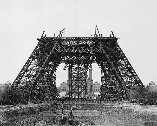 Vintage Paris Postcards: eiffel Tower