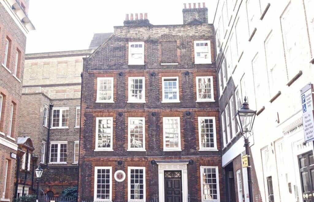 Dr. Johnson's Town House, Gough Square, London