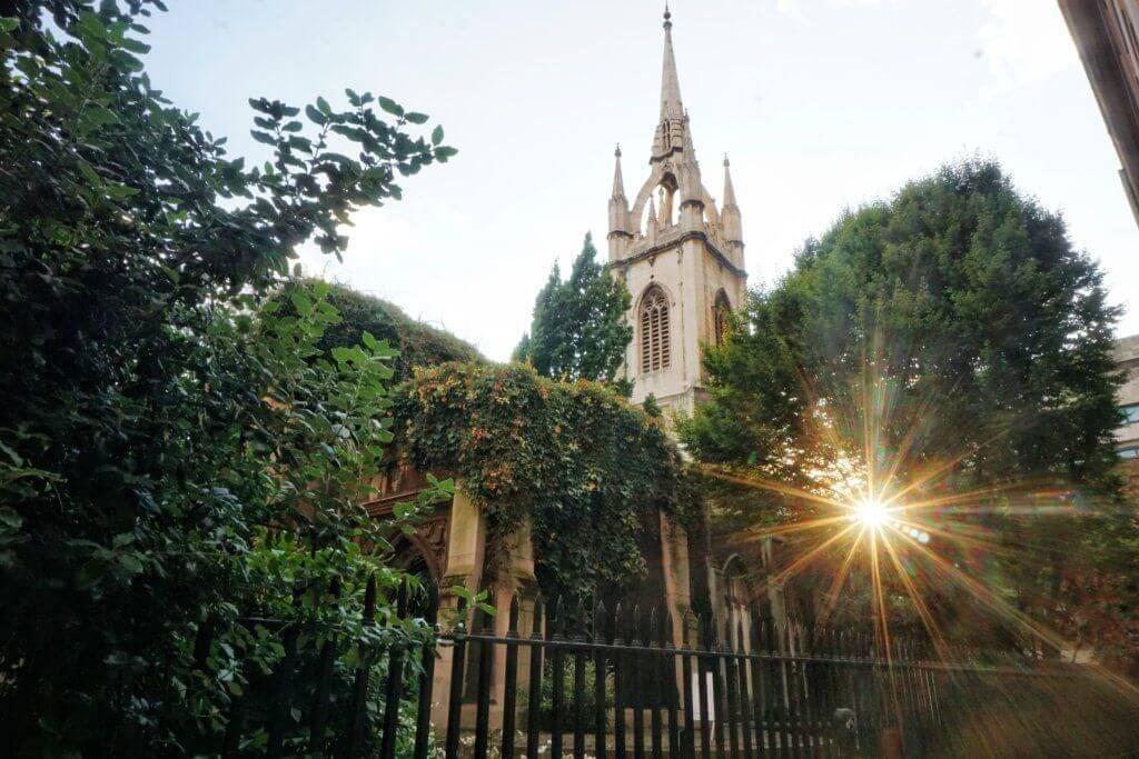 Secret spots in London you'll love: St Dunstan-in-the-east