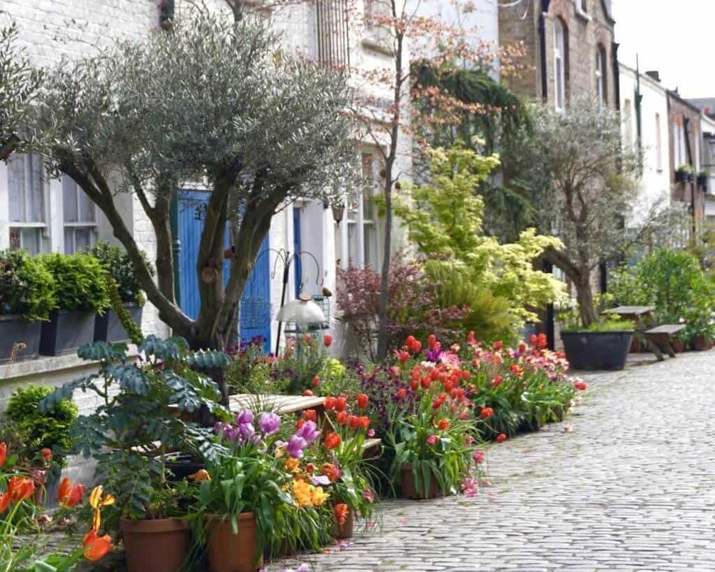 Prettiest London Mews Streets: Bathurst Mews