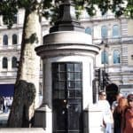 London's smallest police station, England