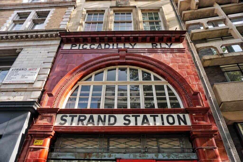 Secret spots in London you'll love: Strand Station