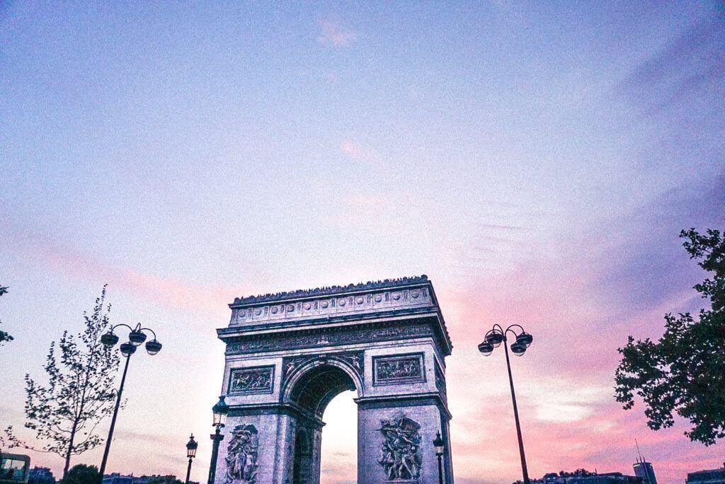 Where to find vintage paris: arc de triomphe