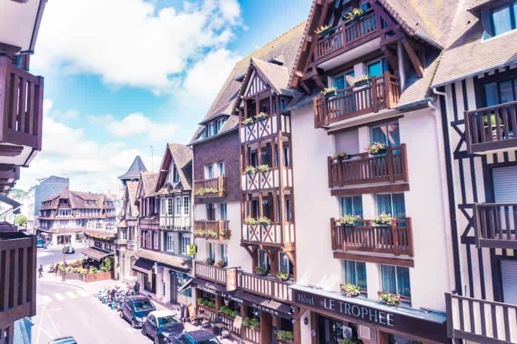 Most beautiful towns in Normandy, Northern France: Deauville