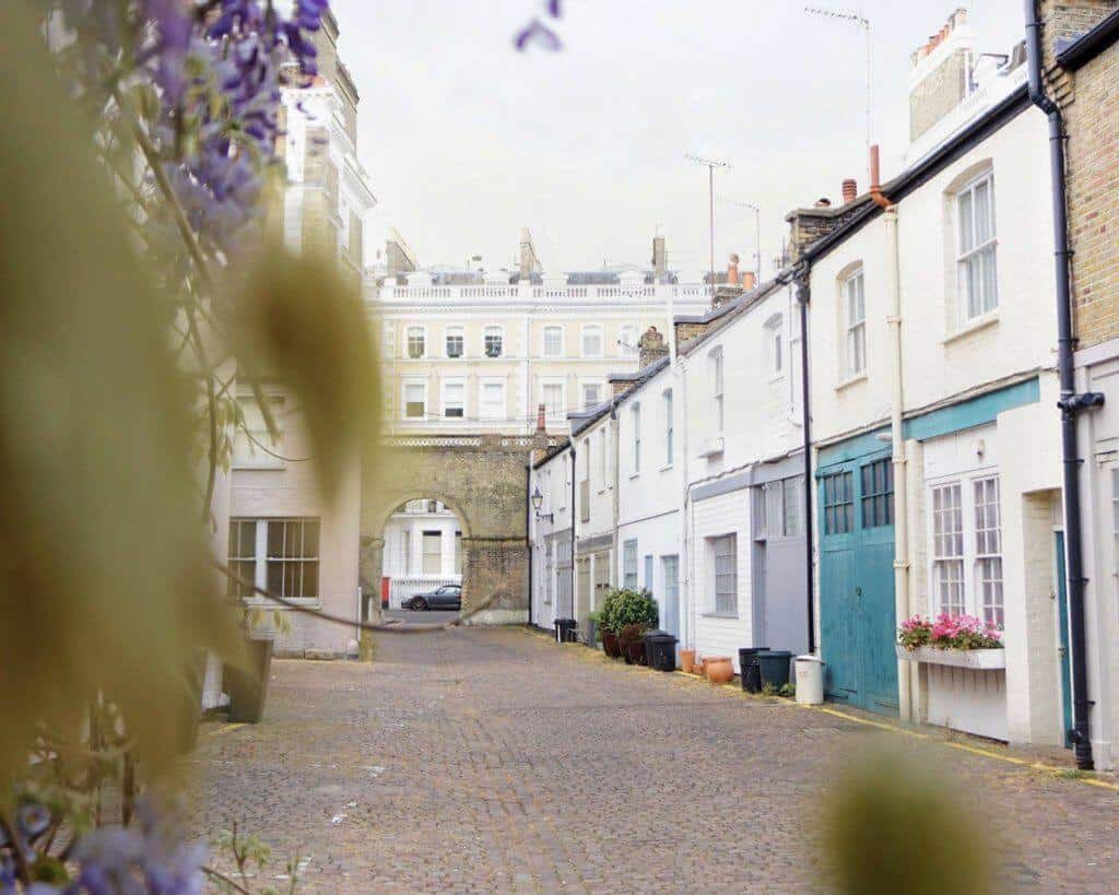 Ensor Mews: Best mews streets in London you have to visit!