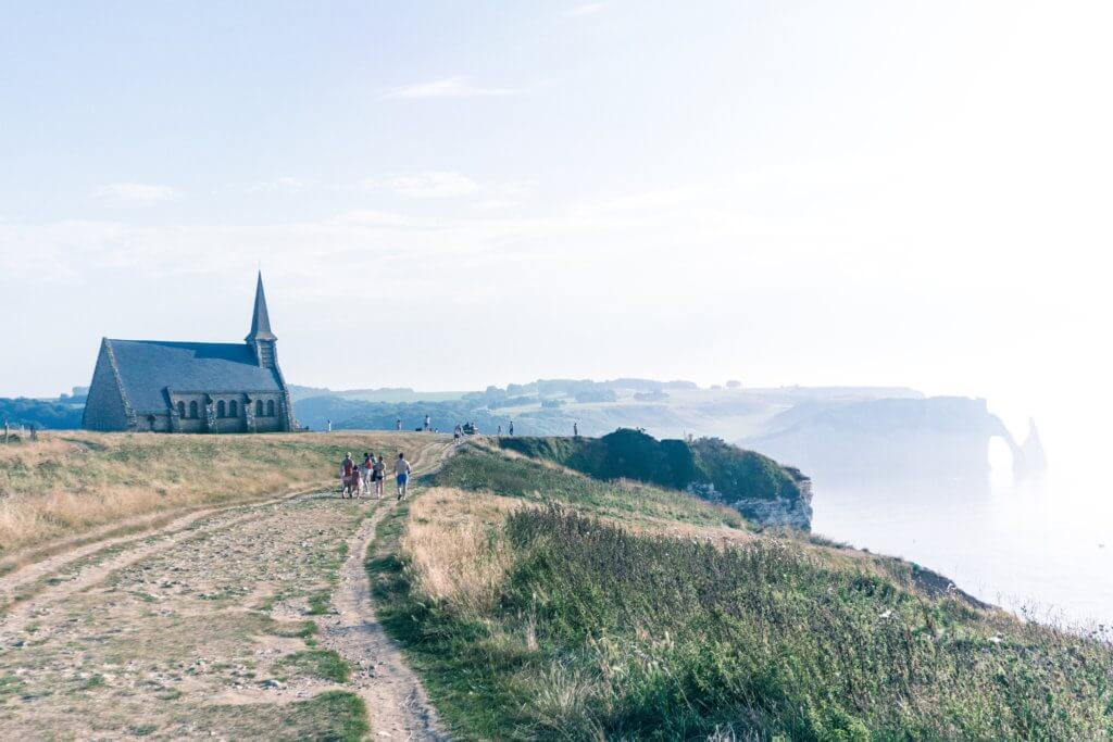 Most beautiful towns in Normandy, Northern France: Étretat